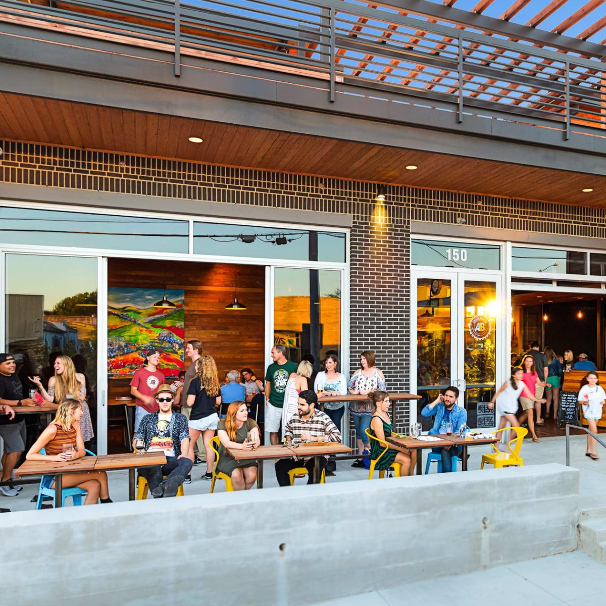AquaBrew Brewery & Beer Garden in San Marcos