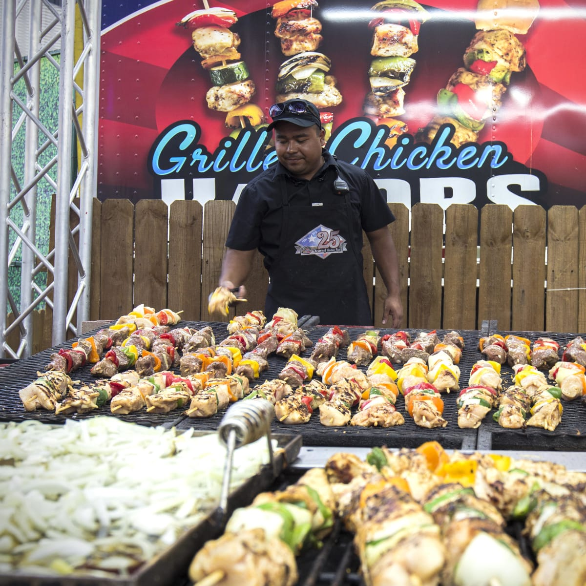 Rodeo Carnival kabob grill