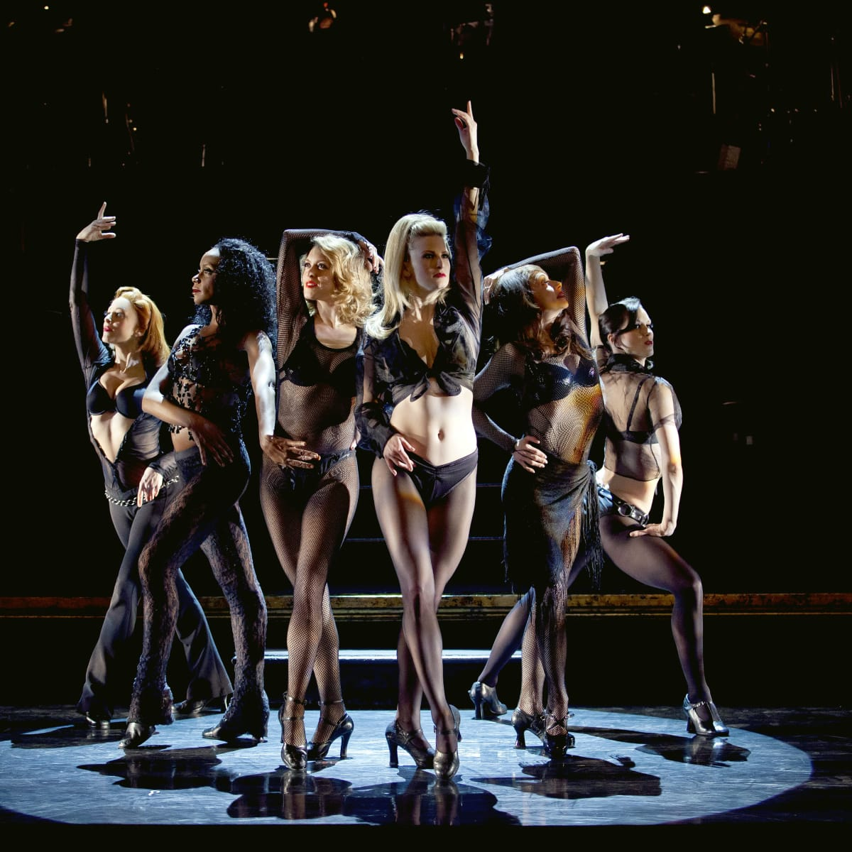 The Broadway cast of Chicago