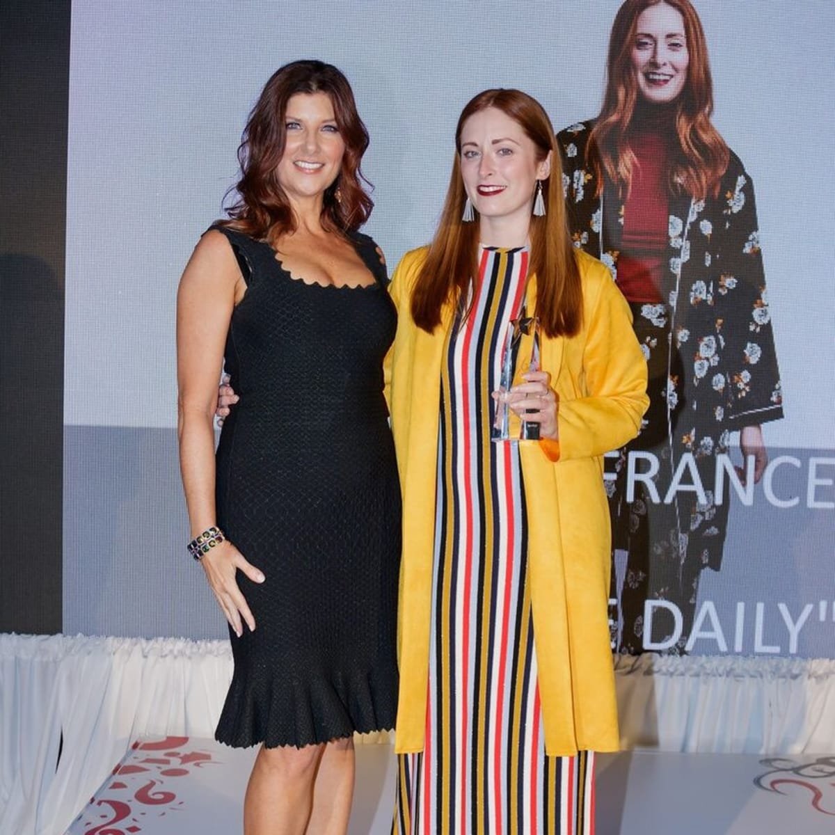 Cynthia Smooth, Amber LaFrance, FGI Rising Star