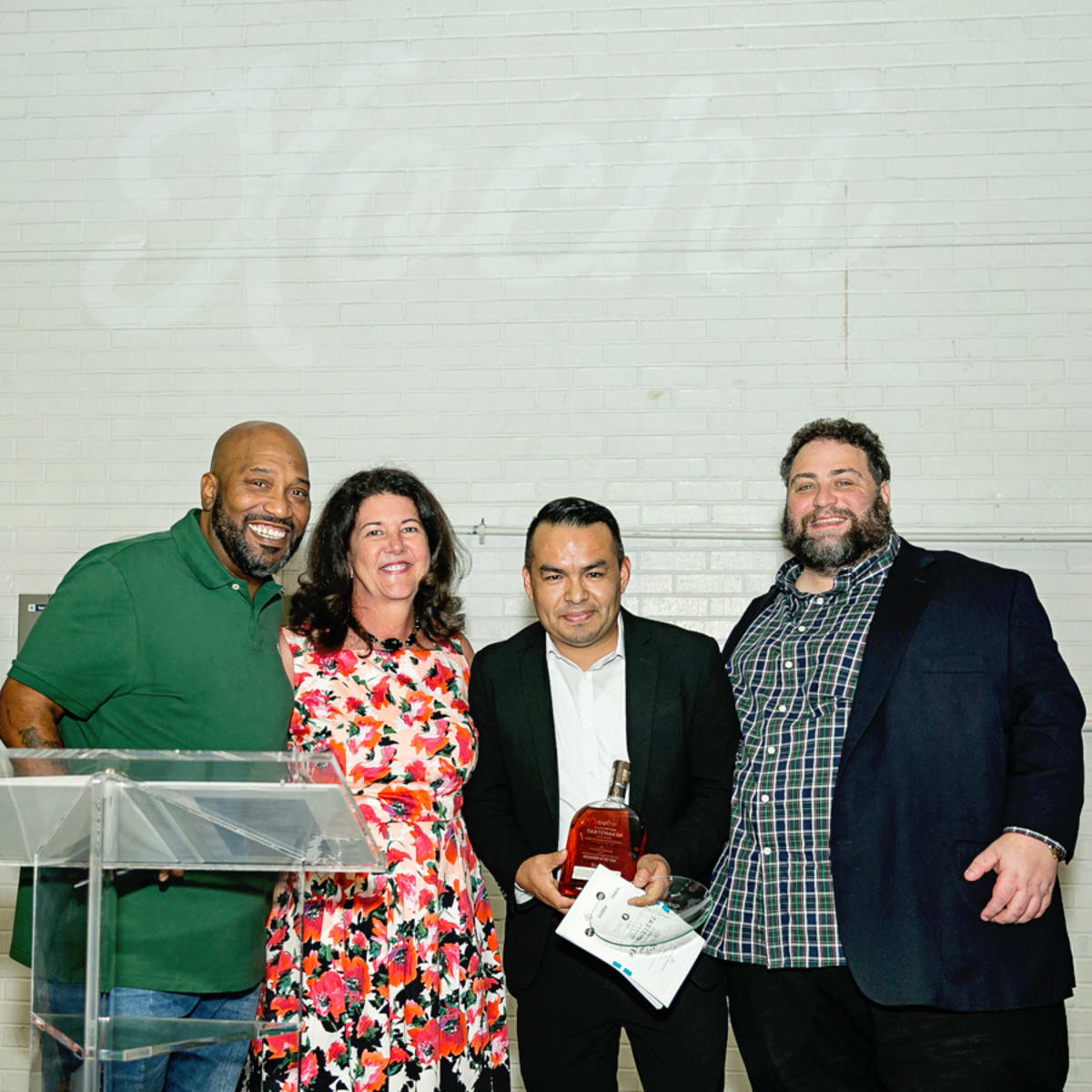 Tastemaker Awards 2018 Bun B, Tracey Vaught, Eric Sandler