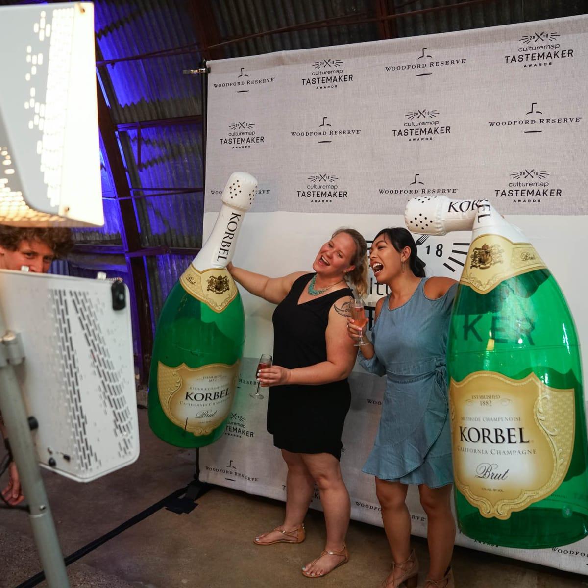 CultureMap Austin 2018 Tastemaker Awards at Fair Market Photo Booth Melissa Mabasa Cheryl O'Connor