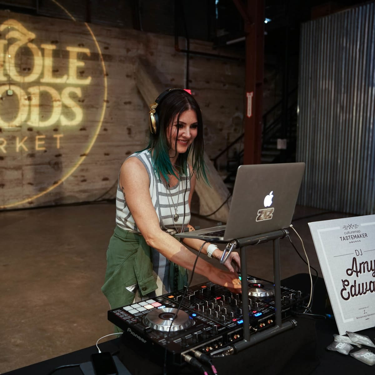CultureMap Austin 2018 Tastemaker Awards at Fair Market DJ Amy Edwards