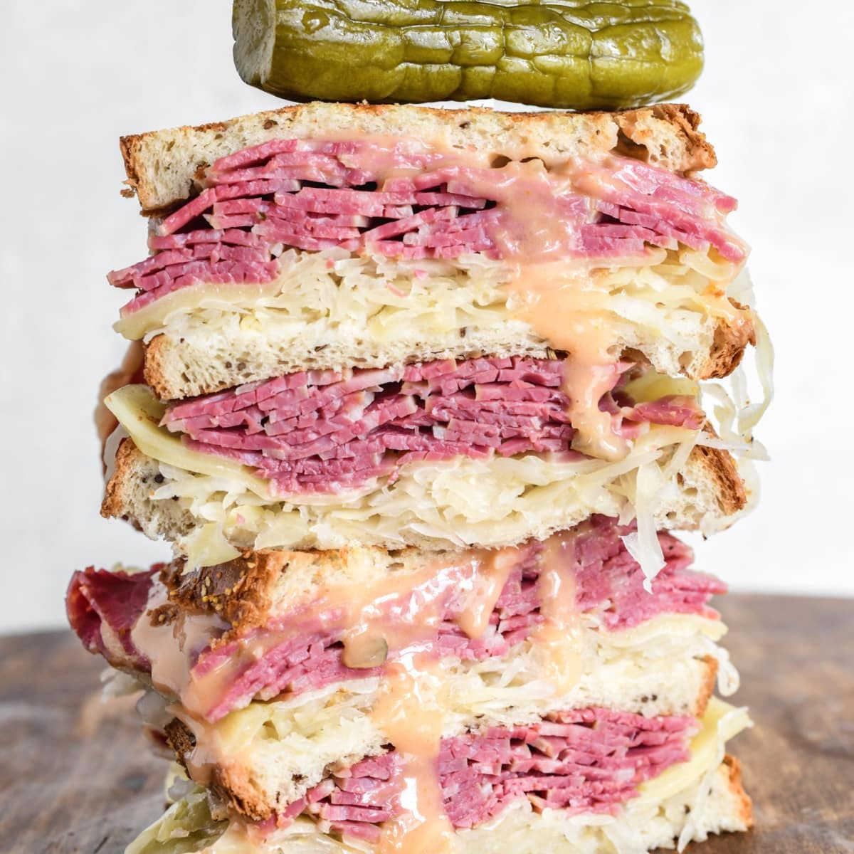 Leibmans classic Reuben sandwich