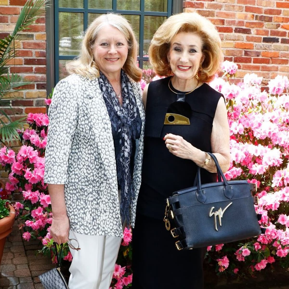 Cynthia Beaird, Doris Jacobs, PCPHS luncheon 2018