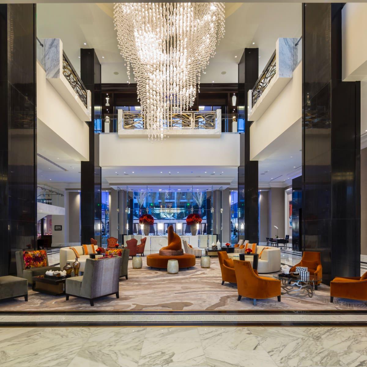 The Post Oak hotel lobby