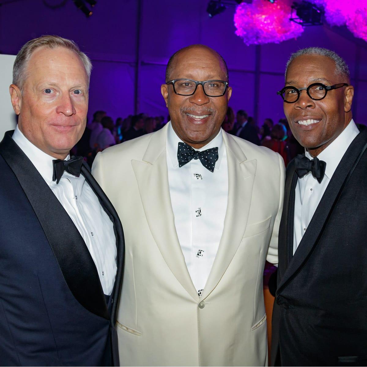 Ross Perot Jr., Ron Kirk, David Huntley