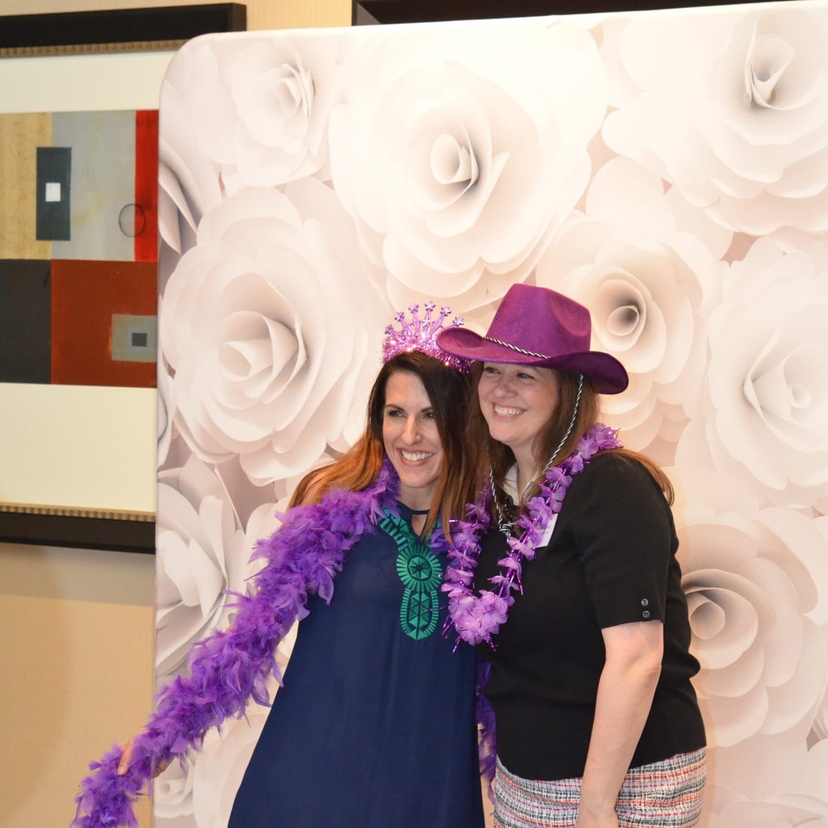 It's in the Bag luncheon 2018, Carla Collins, Emily Brown