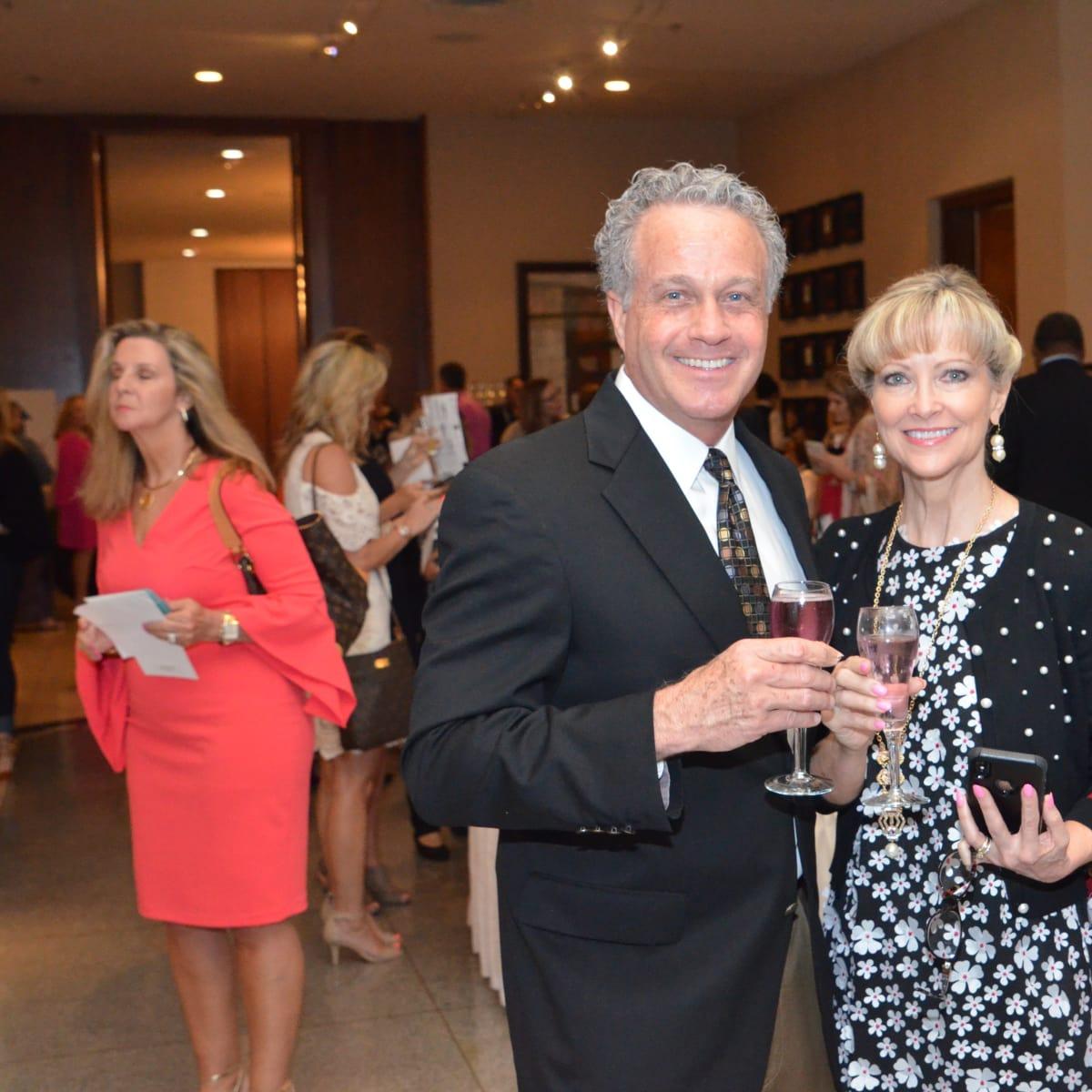 It's in the Bag luncheon 2018, Daniel Davis, Cathy Davis
