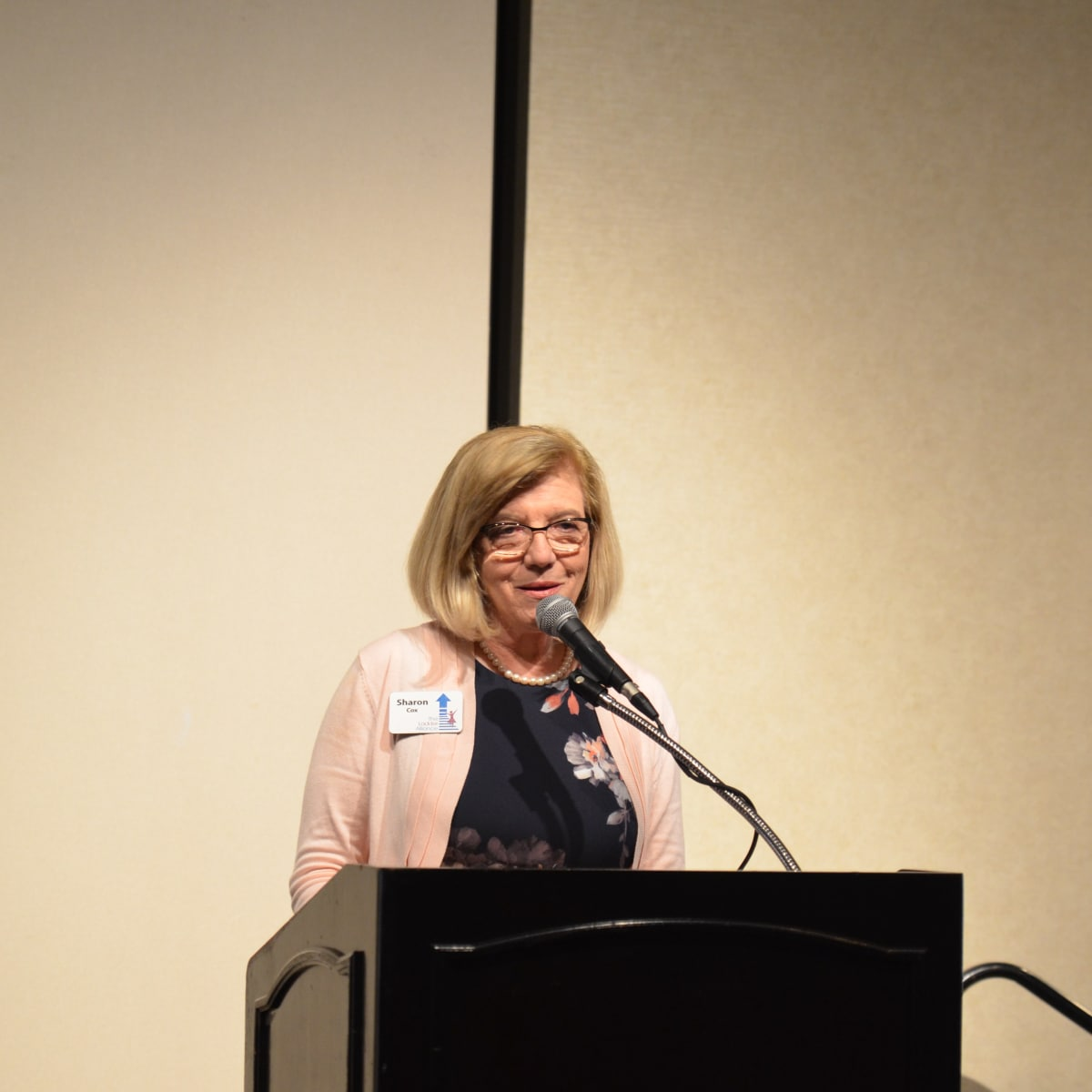 It's in the Bag luncheon 2018, Sharon Cox