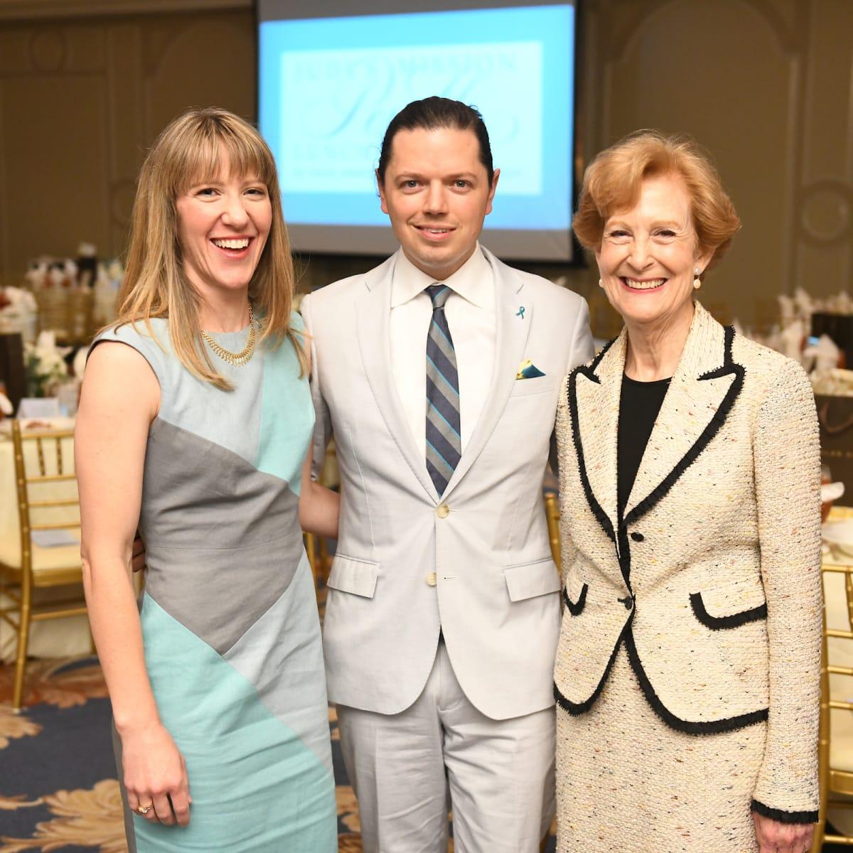 Michelle Phillips, David Peck and Susan Baker/JudysMission