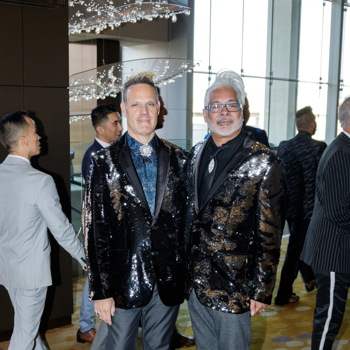 Brian Miller, Mark Soto at House of DIFFA 2018
