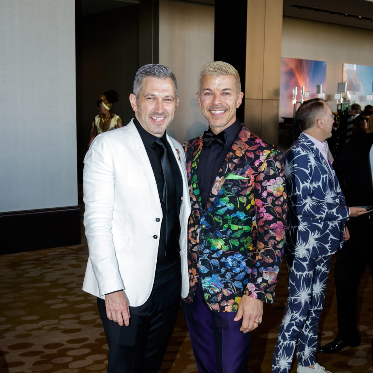 Jim DiMarino, Lee Borchert at House of DIFFA 2018