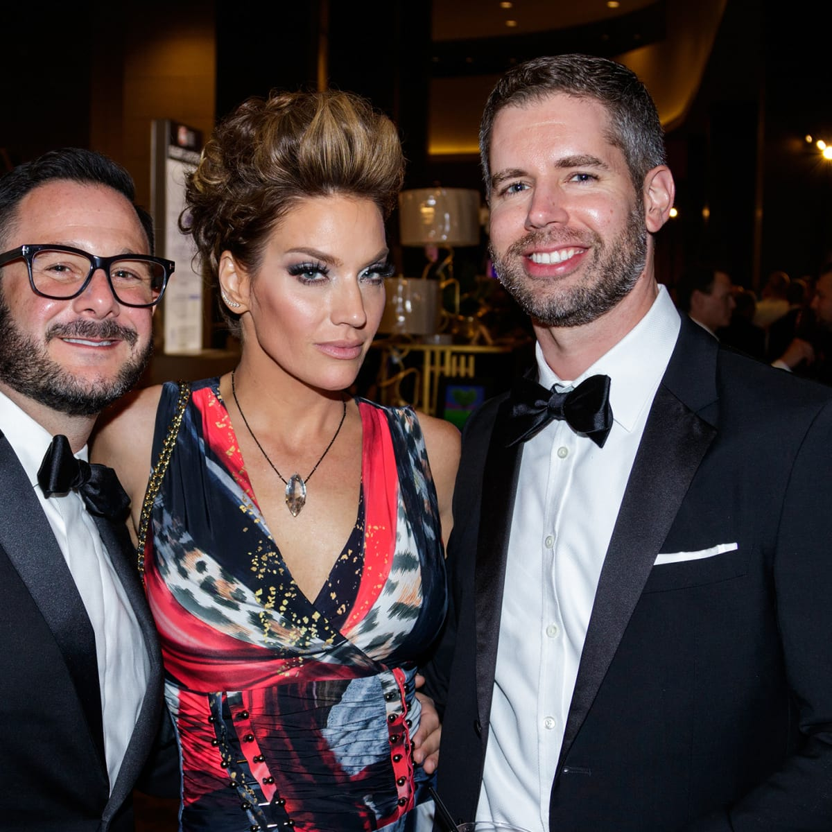 Randy Mills, Cary Deuber, Daryl Sinkule at House of DIFFA 2018
