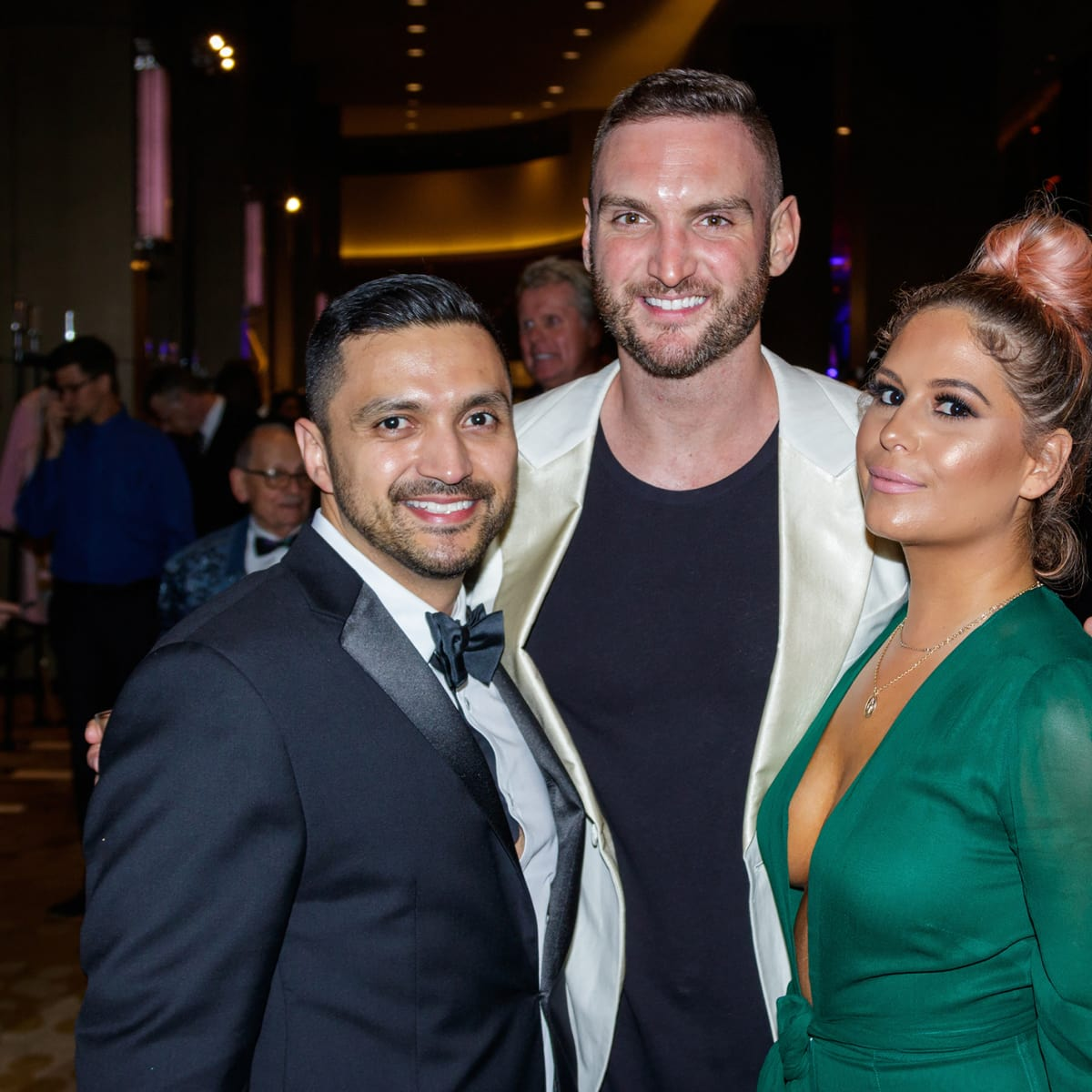 Ruben Ortiz, Phillip Murrell, Caitlin Ripp at House of DIFFA 2018