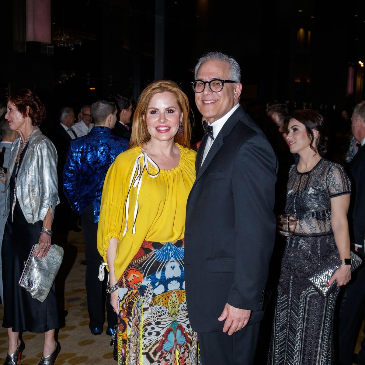 Brenda Meloy, Bill Saplicki at House of DIFFA 2018