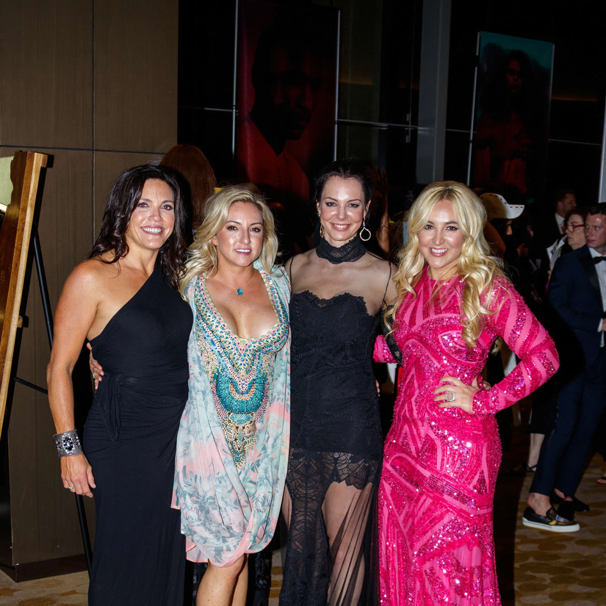 Manda Forbus, Olivia Cook, Brittanie Oleniczak, Vodi Cook at House of DIFFA 2018