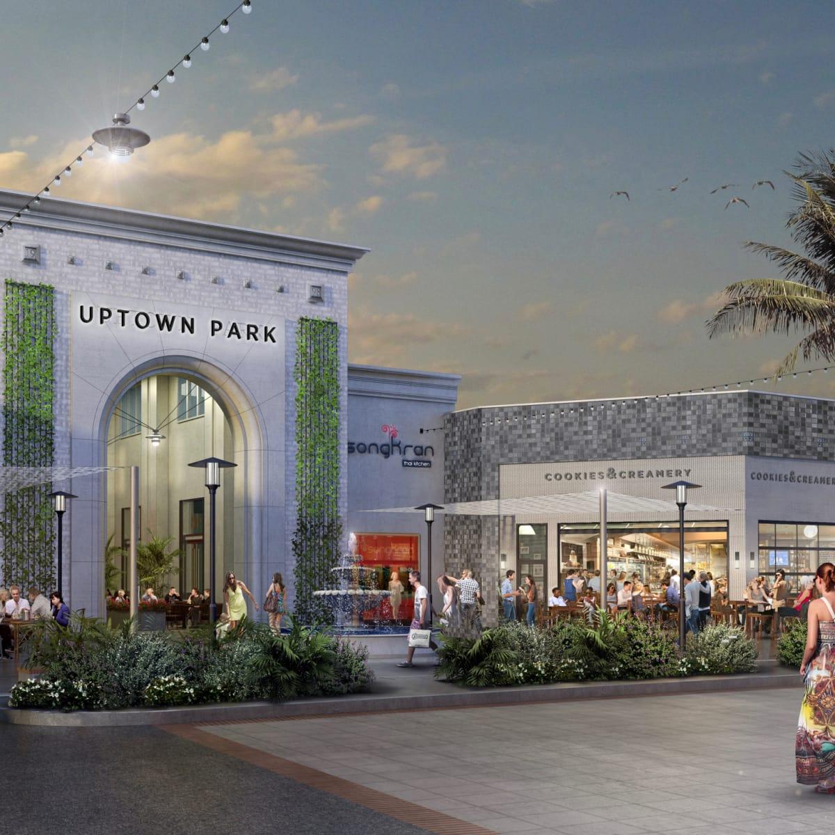 Uptown Park shopping center rendering