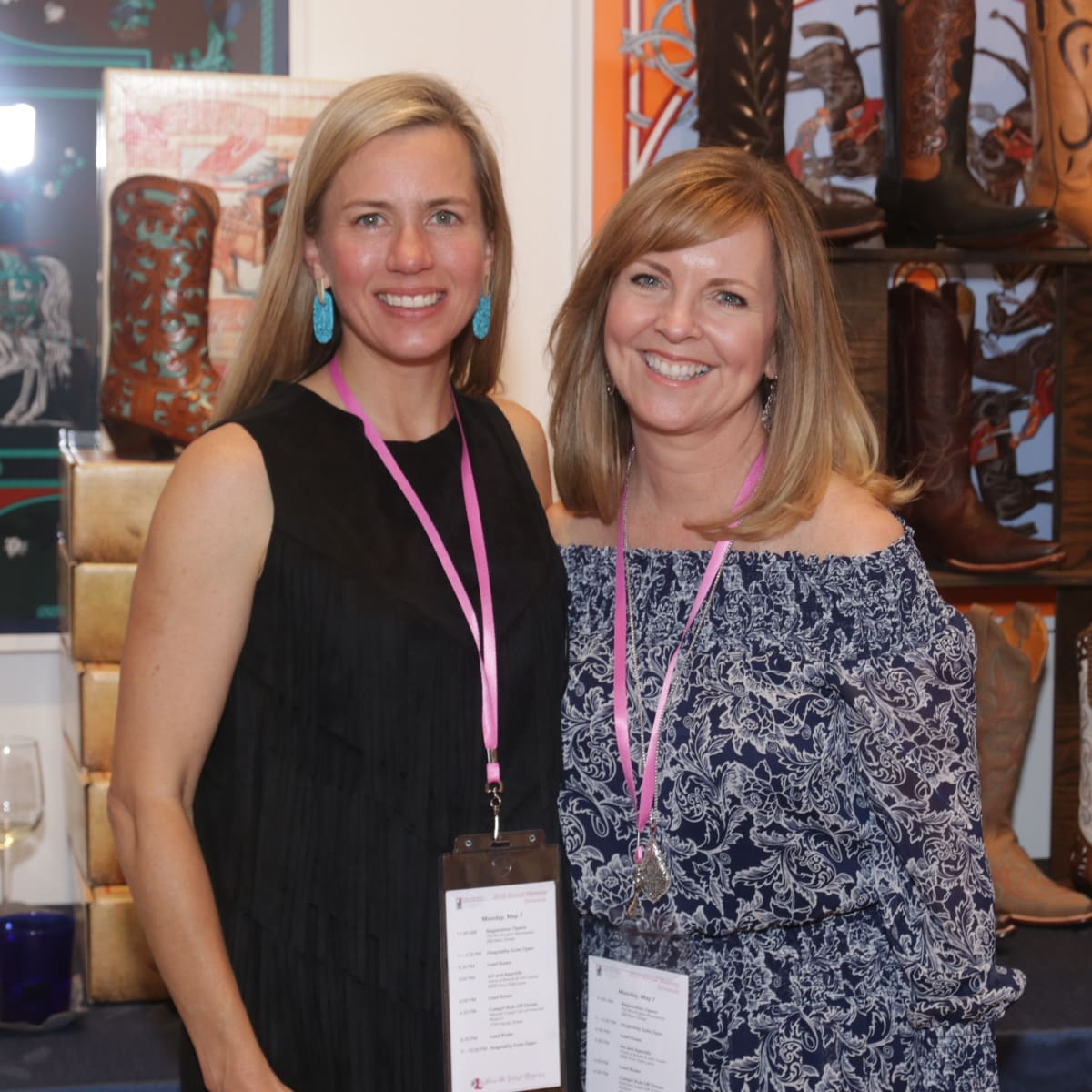 Texas Women for the Arts, Jessica Karlsruher and Lisa Ivie Miller