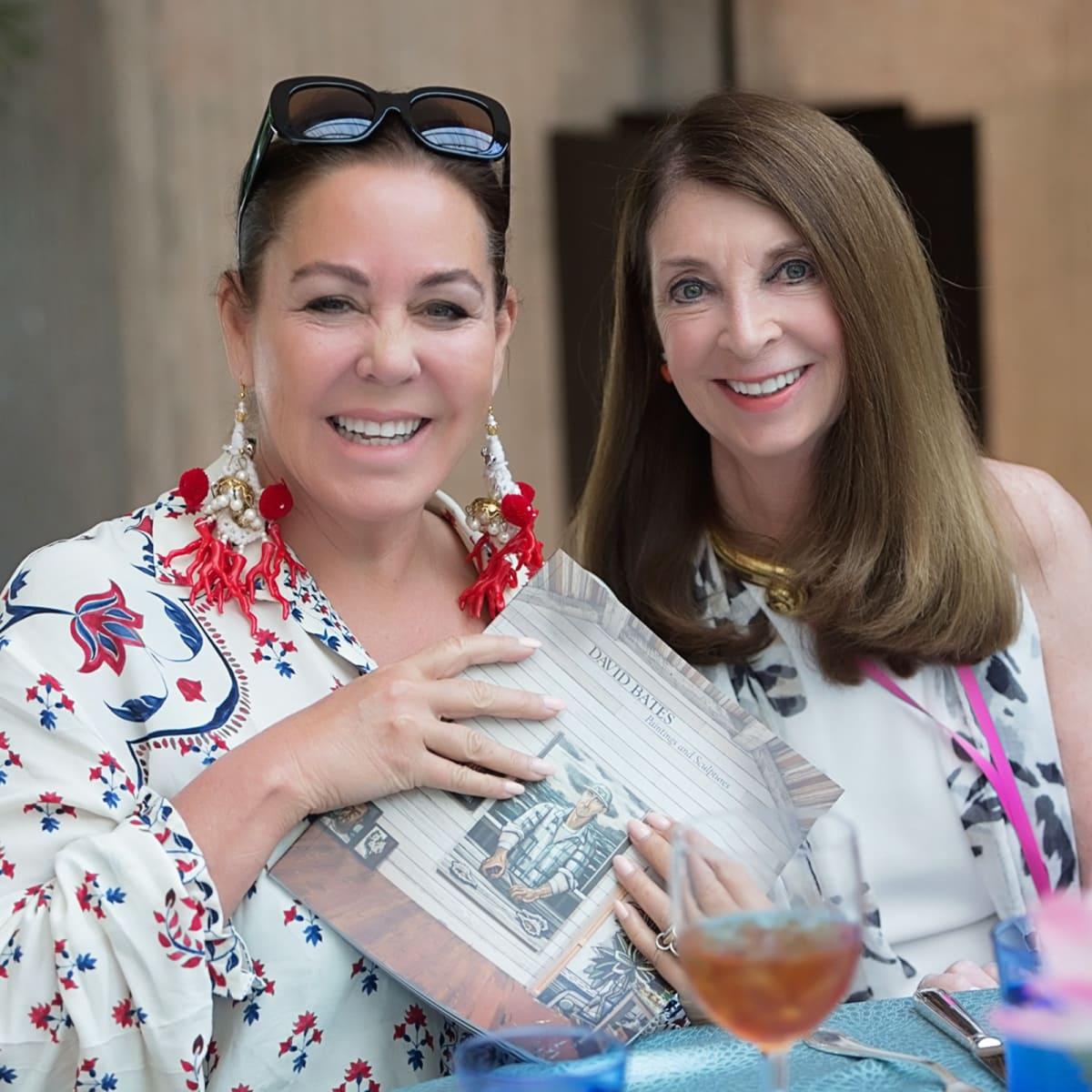 Texas Women for the Arts, Michelle Nussbaumer (Dallas) and Marsland Moncrief (FW)