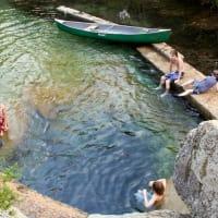 Jacob's Well best swimming holes Austin, Texas