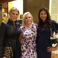 Vogue, Louis Vuitton lunch, 9/26 Courtney Hobson, Valerie Fuller, Melissa Mithoff