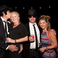 Dave Handley, Heather Handley, Denise Ruckstuhl, Eric Ruckstuhl at Bayou Preservation Gala