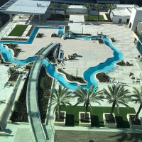Marriott Marquis Texas lazy river