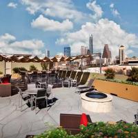 Airbnb Austin apartment downtown skyline view