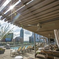 Westin Austin Downtown Hotel Pool Skyline