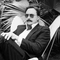 comedian and mustachioed author John Hodgman