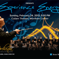 "Texas Medical Center Orchestra presents ""Experience Energy Concert"""