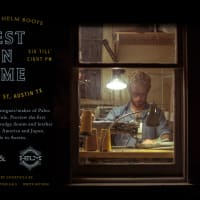 flyer to meet Richard Cole of Paleo Denim at HELM boots