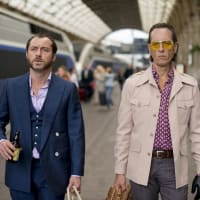 Jude Law and Richard E. Grant in Dom Hemingway
