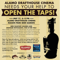 Open the Taps Fundraiser