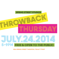 Throwback Thursday at Studio 101 and Spring Street Studios with Stark Naked Theatre Company and Mildred's Umbrella Theater Company
