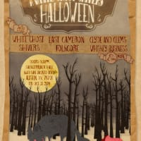 Scary Tales Ball White Ghost Shivers Halloween 2014