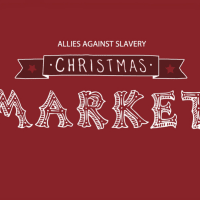 Fifth Annual Christmas Market - Allies Against Slavery - December 2014