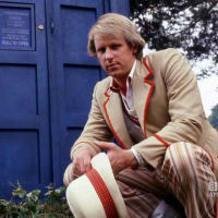 Peter Davison as the Fifth Doctor in Doctor Who