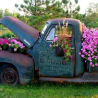 Vintage Blooms by Rusty Truck Vintage Market
