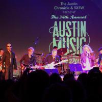 Austin Music Awards March 2016 Charlie Sexton Jimmie Vaughan Robert Plant