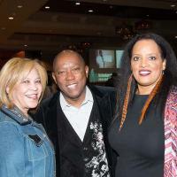 Boots and Bling State Representative Helen Giddings, Houston Mayor Sylvester Turner and Houston Links President, Carolyn Codwell