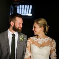 Katie Van Dyk Ben Nelson real wedding-downtown