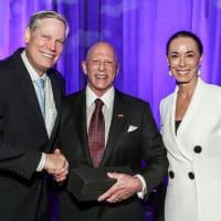 News, National Philanthropy Day Awards, Dec. 2015, Corbey Robertson, Lester Smith, Sue Smith