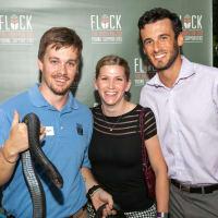 Houston Zoo YP Monty Criswell, Chris Huenink, Alex Baron