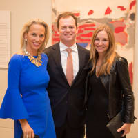 News, Shelby, MFAH Rothko opening, Sept. 2015, Catherine Masterson; Brian and Elisabeth McCabe