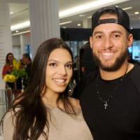 Houston, Lance McCullers Jr. and José Altuve Team Up For Kids and K9s, May 2017, Charlise Castro, George Springer