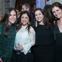AVDA Gala, Blair Foster, Alyssa Aboloff, Emily Mohn, Hallie McDermott