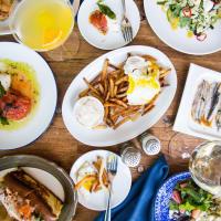 A'Bouzy brunch table spread