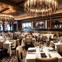 Mastro's Houston dining room interior